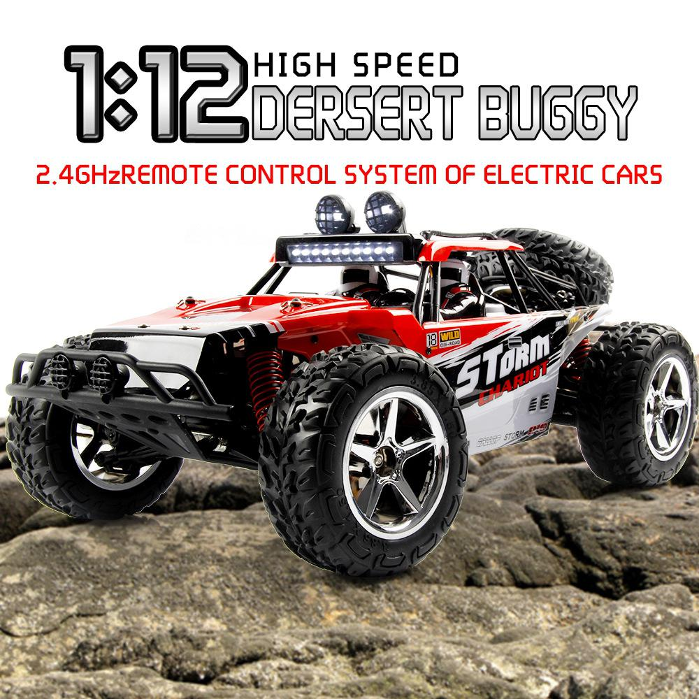 RCtown Subotech BG1513 2.4G 1/12 4WD RTR High Speed RC Off-road Vehicle Car Remote Control Car With LED Light