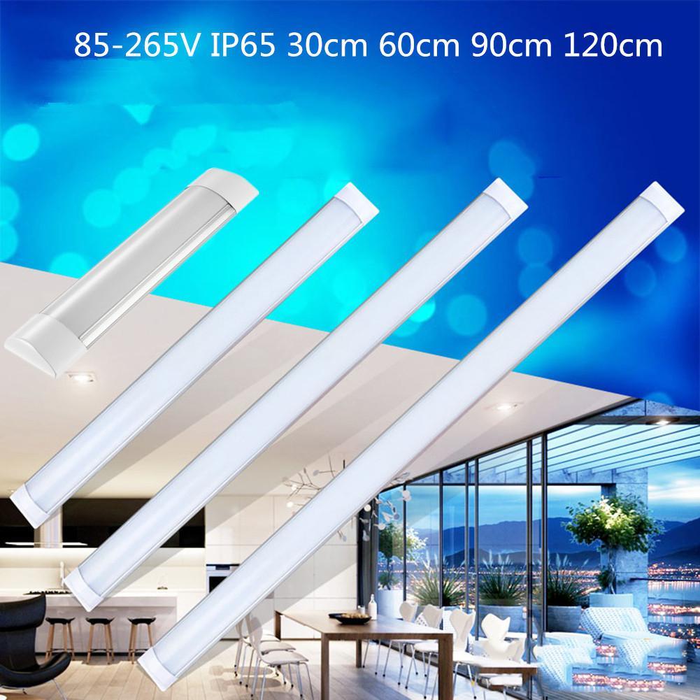 1FT/2FT/3FT/4FT LED Batten Tube Linear Light Tri-Proof Surface Panel Ceiling Lights 85-265V IP65 Waterproof Tube Bulb
