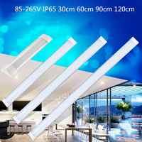 1FT/2FT/3FT/4FT LED Batten Tubo Lineare Luce Tri-Prova di Superficie del Pannello Luci di Soffitto di 85 -265V IP65 Impermeabile della lampadina del Tubo