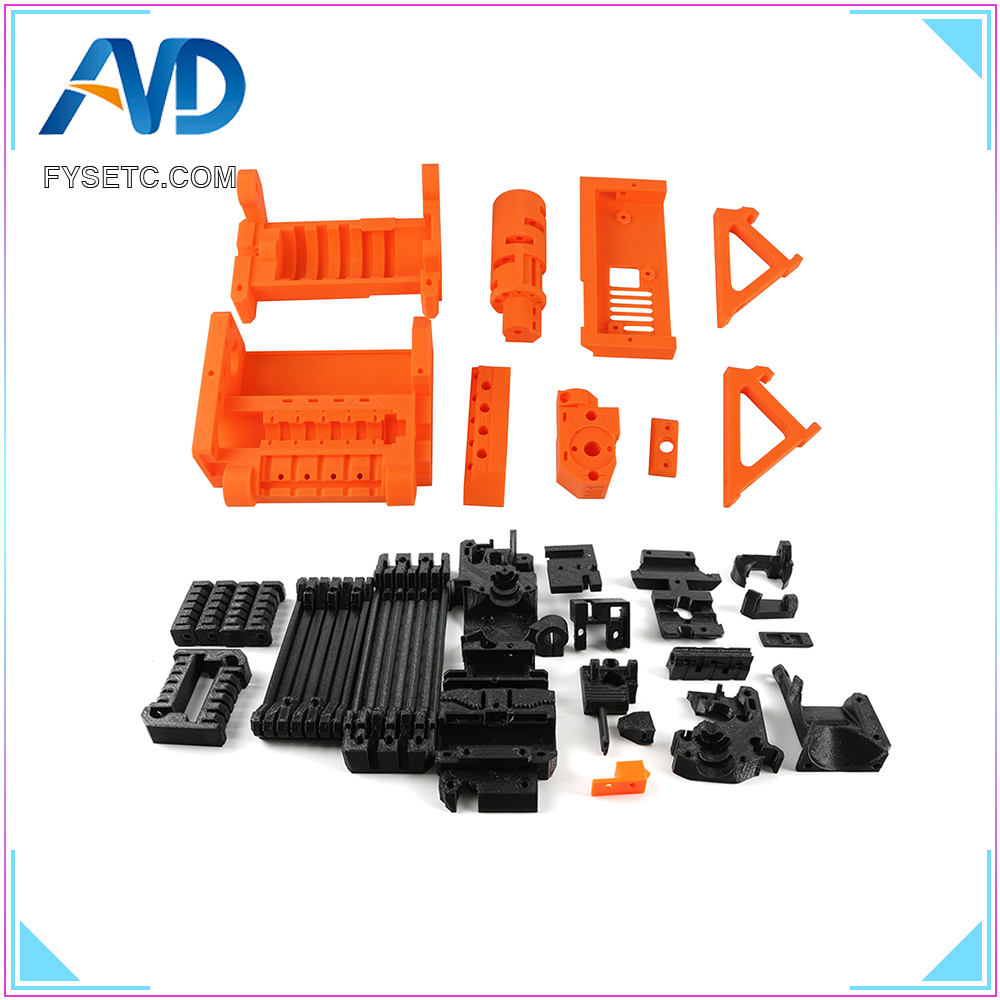 The Whole PLA Material Printed Parts For Prusa i3 MK2.5S MK3S MMU2S Multi Material 2S Upgrade Kit
