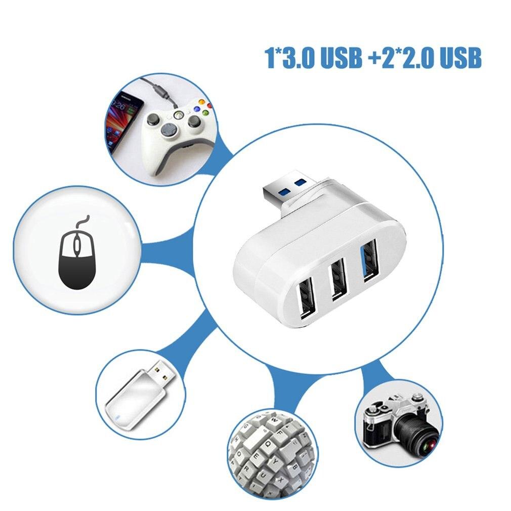 For Pc Laptop Usb Hub 3/6 Port Usb Hub 3.0 High Speed Multi-Hub Usb Splitter 2.0 Hab 1 Multiple Adapter Usb 3.0 Card Reader