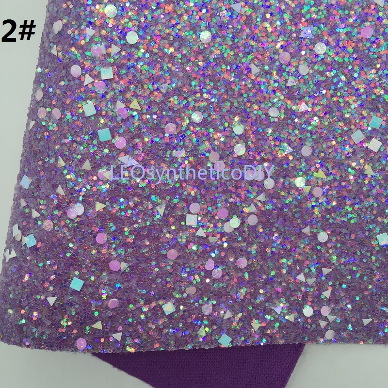 Neon Glitter Leather Chunky Glitter Purple Glitter Glitter Faux Leather Pink Glitter 11x52\u201d MK087A Mini Roll Glitter Leather