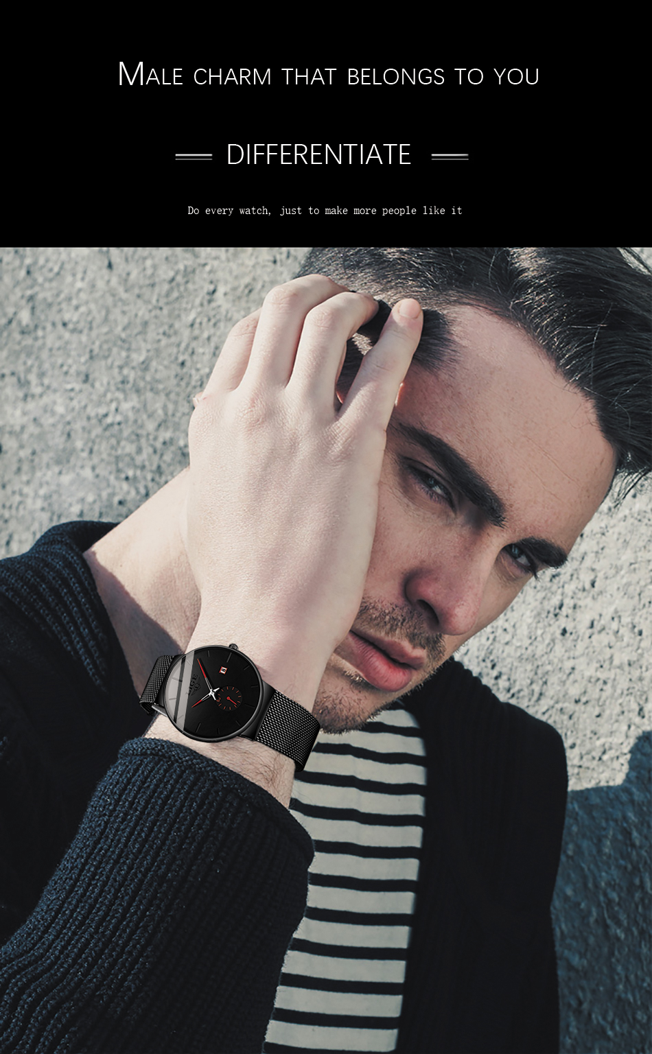 H5d1b35aa63304ad1a37d16b107252fd4O New LIGE Mens Watches Casual Fashion Gift Men Watch Business Waterproof Quartz Watch Full Steel Clock Relogio Masculino+Box