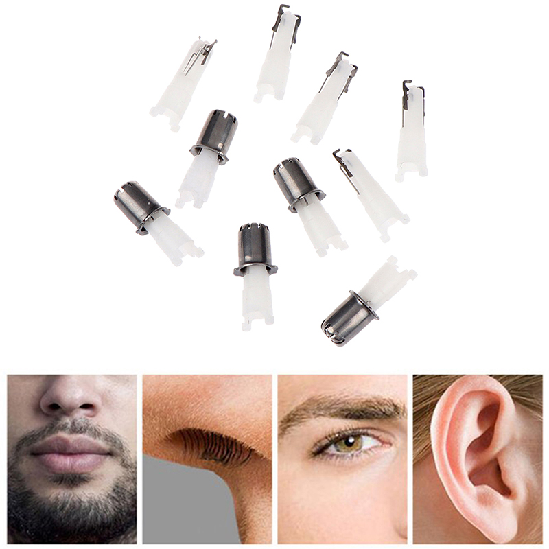 5Pcs Nose Hair Cutter Nose Trimmer Replacement Head 3-in-1 Electric Shaver Razor Hair Removal Replacement Head