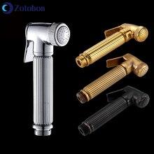Sprayer-Set-Kit Bidet-Faucet Shower-Head Chrome-Hand Handheld Toilet Bathroom Self-Cleaning-H128