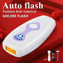 600000 flash IPL laser hair removal machine epilator Facial permanent bikini trimmer electric depilador