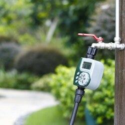 Timer US /EU podlewanie ogrodu System inteligentny programowalny cyfrowy czasowy wyłącznik przepływu wody lato samo podlewanie domu odporne na warunki atmosferyczne narzędzie ogrodowe