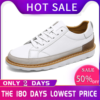 Casual Shoes Men Spring Autumn Flat Shoes Lace-up Low Top Male Sneakers Calzado Hombre D50