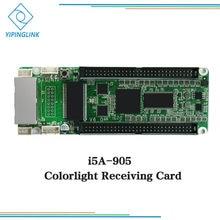Cartão Receptor Colorlight i5A-905 controlador para fundição gabinete de alumínio tela