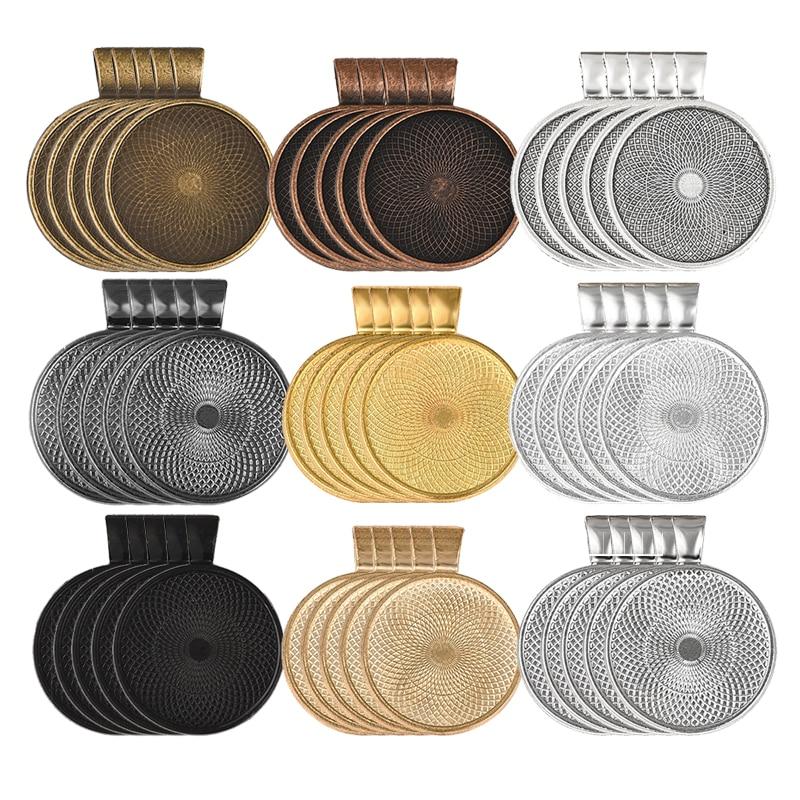 20 pezzi misura 16mm cameo cabochon argento antico rotondo base impostazione