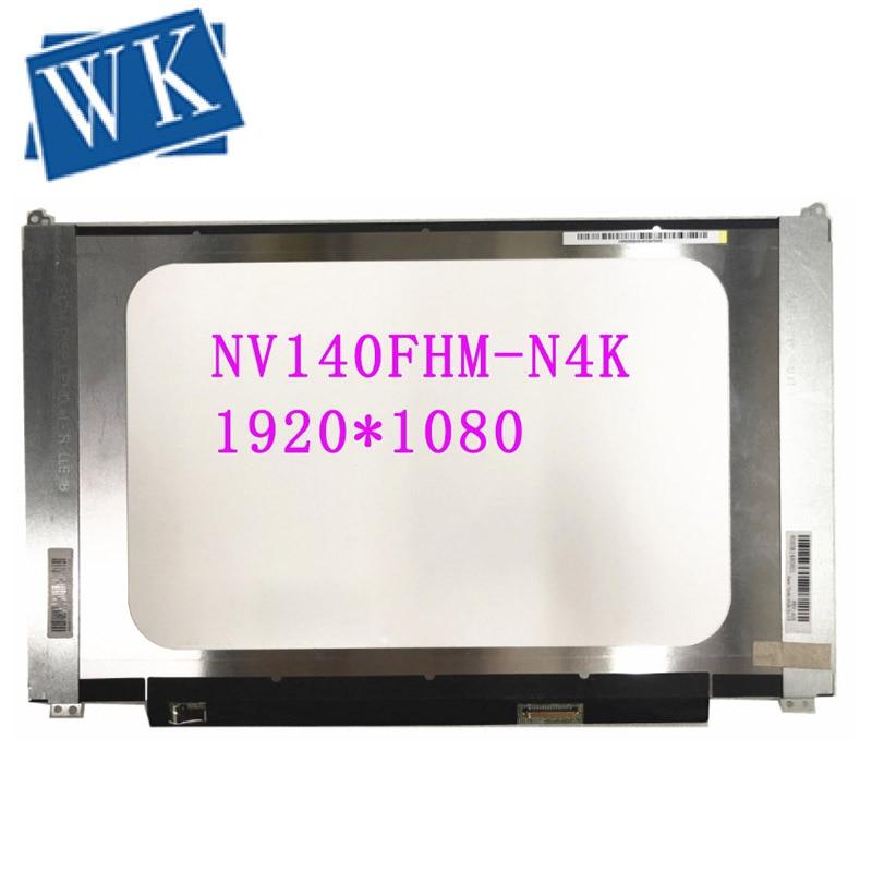 NV140FHM-N4K NV140FHM N4K LCD LED Screen Panel Matrix 1920*1080 30 Pins