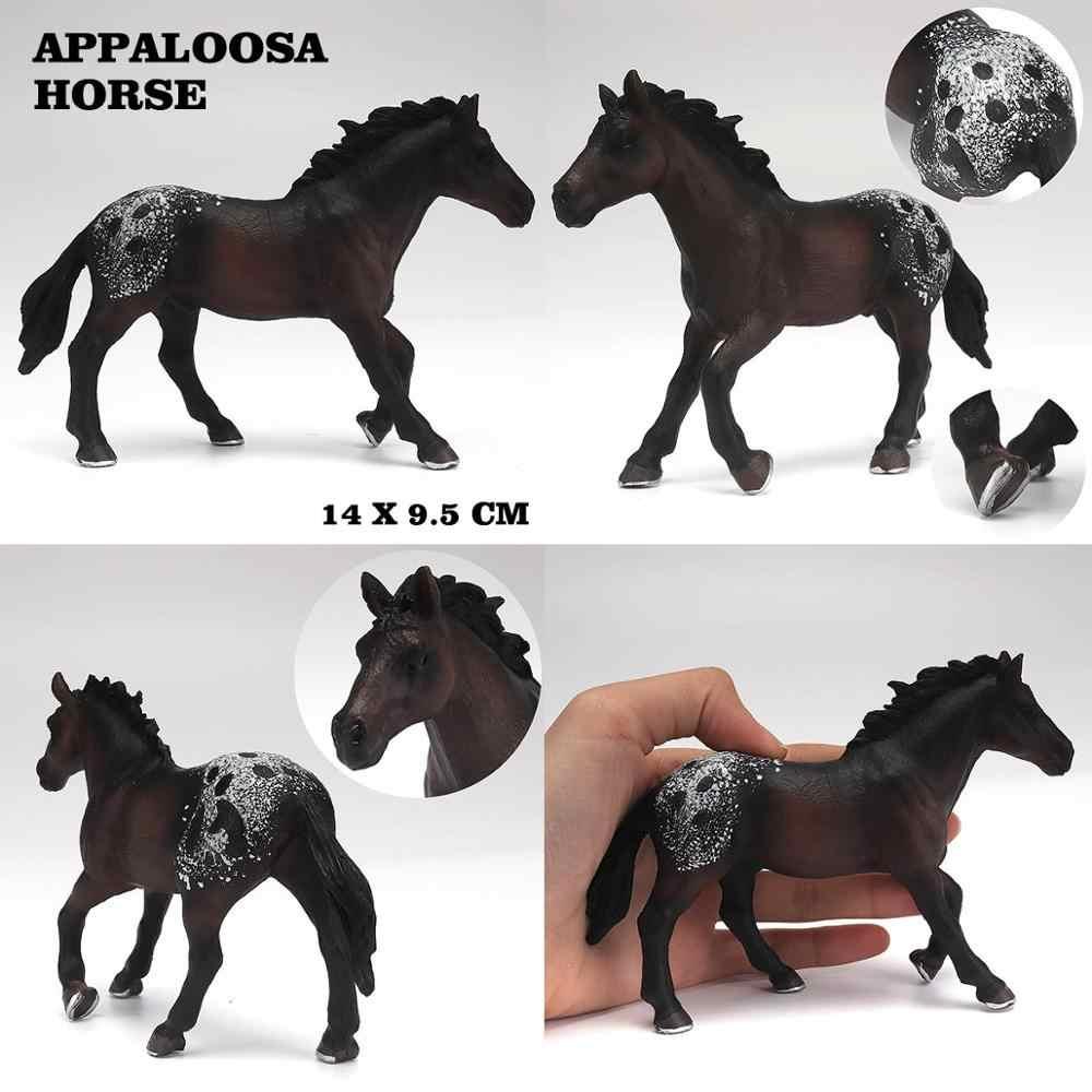 Brinquedos Cavalo Modelo Animal selvagem Conjunto para Brincadeira de Criança Action Figure Boy Simulado Uma Peça de Decoração Para Casa