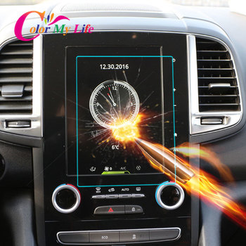 Color My Life Car GPS Navigation Screen Protective Toughened Film for Renault Koleos MK II 2 Samsung QM6 2016 - 2020 Accessories image