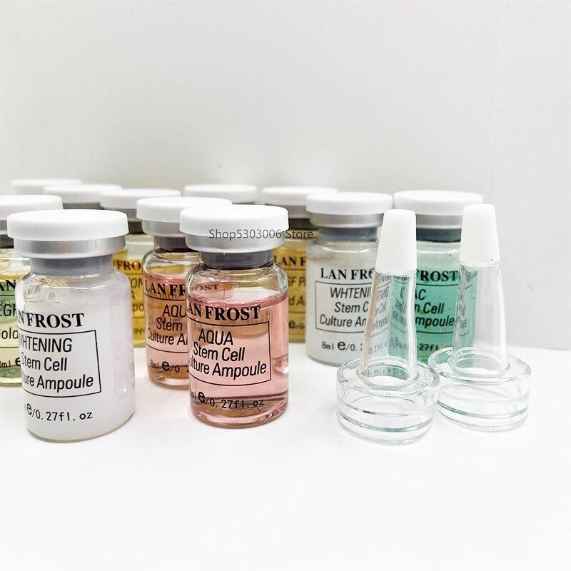 BB Cream – Ampoule de sérum, maquillage coréen pour renforcer la couche cornée, cacher les Pores, crème bb Authentique Semi-permanente, 8ML/bouteille