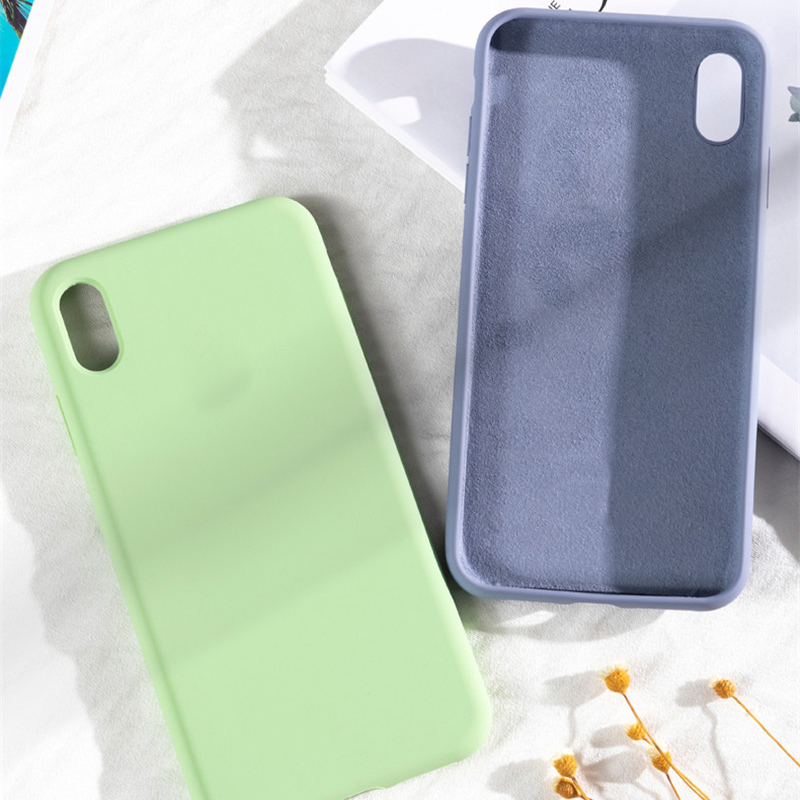 ORIGINALE SILICONE COVER For Apple iPhone X XR XS 11 Pro Max 8 7 6