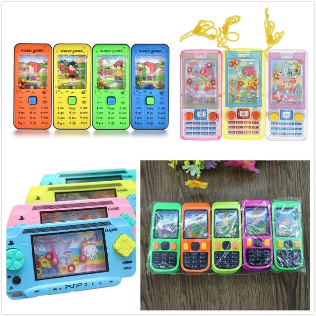 1 pièces jeu intellectuel anneau enfants enfants jouets drôles cadeau téléphone Mobile forme classique eau Lasso virole jouet