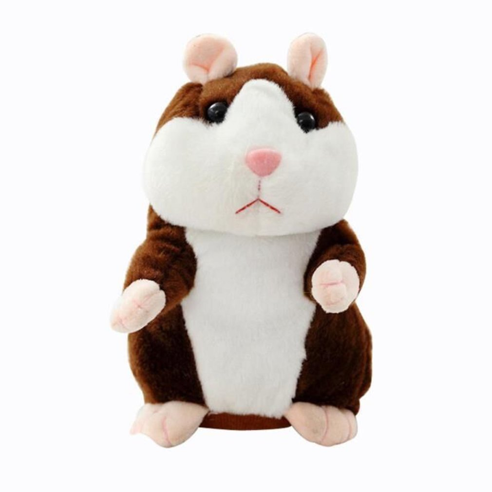Smart Walking Vibration Singing Recording Hamster Speaking Doll Electric Plush Toy Voles Children's Toys