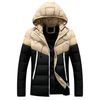 2019 Winter New Thick Hooded Inverno Masculino