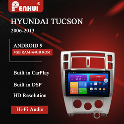 Car DVD For Hyundai Tucson (2006-2013) Car Radio Multimedia Video Player Navigation GPS Android 10.0 Double Din