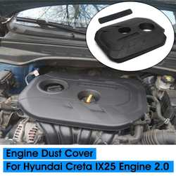 Car Engine Dust Cover 2.0 Cited Cover Decorative Cover Protective Cap for Hyundai Creta IX25 2015 2016 2017 2018 2019