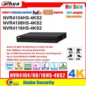 Image 1 - Сетевой видеорегистратор Dahua NVR P2P 4K Сетевой Видео Регистраторы NVR4104HS 4KS2 NVR4108HS 4KS2 NVR4116HS 4KS2 4CH 8CH 16CH 1U 4K и H.265/H.264 DVR