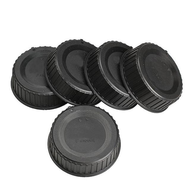 5pcs Rear Lens Cap Cover Scratch proof Anti Dust Lens Protective Case For Nikon AF AF S DSLR SLR Camera LF 4 Camera Accessories