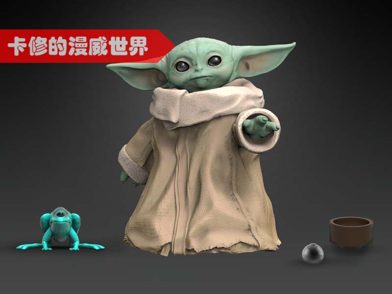 1.2inch Hasbro Star wars The Mandalorian BABY YODA The Child anime action & toy figures model toys for children