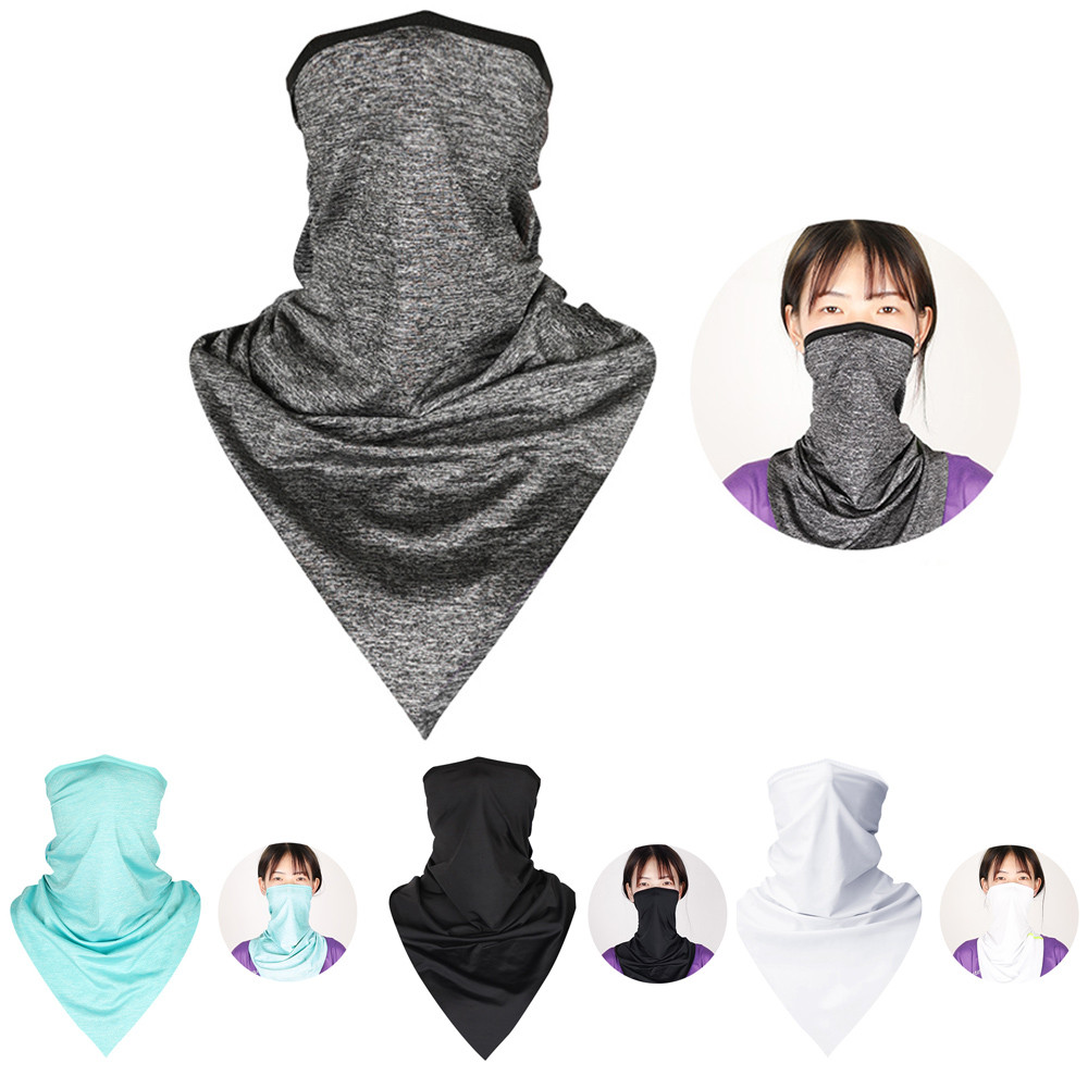 NIOWORLD Anti Pollution Face Mask Mouth Black Mask Protection Dust Outdoor Mouth Mask Outdoor Cycling Motorcycle Accessories
