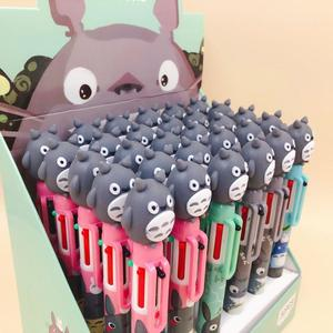 Image 4 - 36 pcs/lot Totoro 6 colors Ballpoint Pen Cartoon animal ball pen School Office writing Supplies Stationery Gift