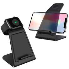 10W Qi Wireless Charger for Apple Watch 3 Fast Wireless Charging Stand For iPhone XS Max XR X 8 Plus Samsung S9 S8 Note 8 accezz 3 in 1 10w 7 5w qi fast wireless phone charger for iphone 8 plus x xs max xr for airpods for samsung lighting charging