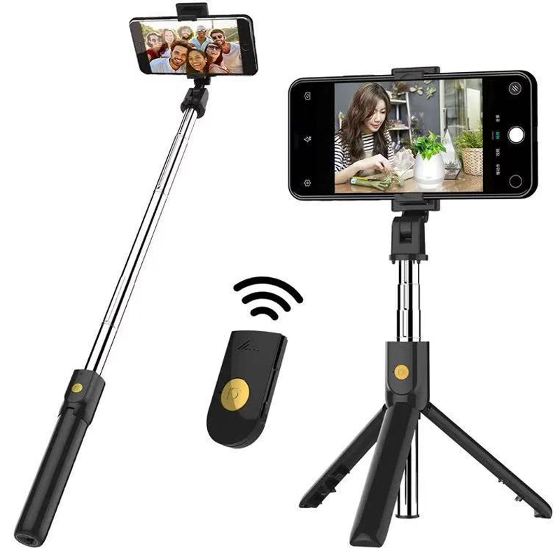 Mobile Phone Holder Tripod With Remote Self-Timer Artifact Rod For Phones G0pro For Huawei P30 P20 P10 P 30 P 20 Mate30 Pro Lite