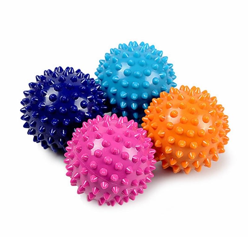 Fitness Ball Foot Massage 6.5cm Foot Ball Cervical Vertebra Rehabilitation Stroke Acupuncture Health Care Hand Ball Fascia Ball