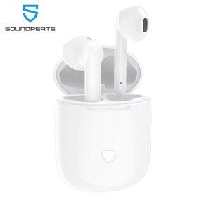 Image 1 - SoundPEATS Bluetooth écouteurs vrai sans fil contrôle tactile écouteurs 30Hrs Playtime CVC suppression de bruit affichage de la batterie