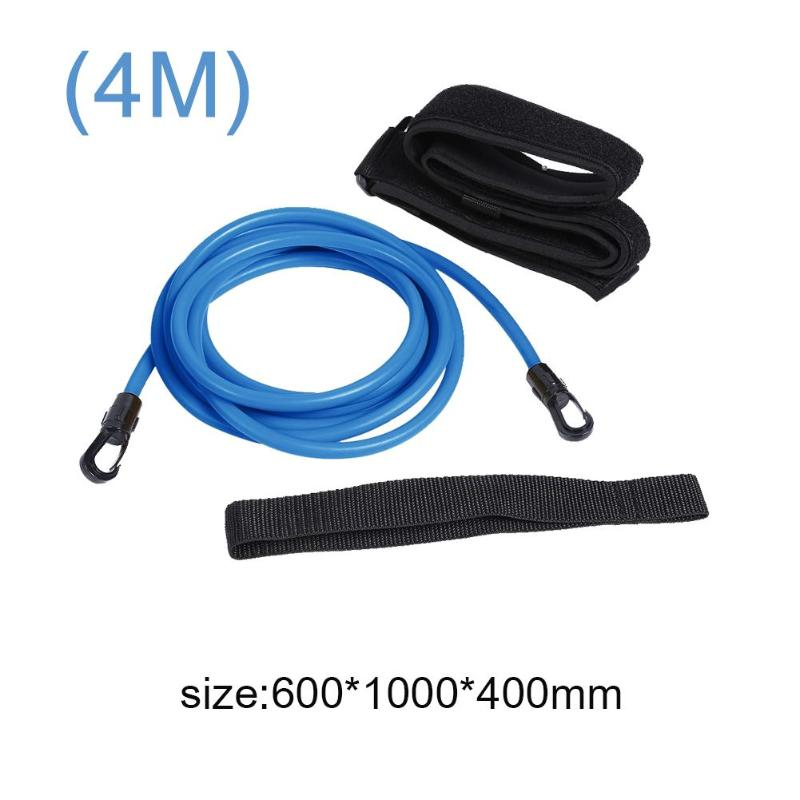 Swim Training Resistance Elastic Belt Safety Rope Swimming Pool Latex Tubes Various Specifications Styles Accessories