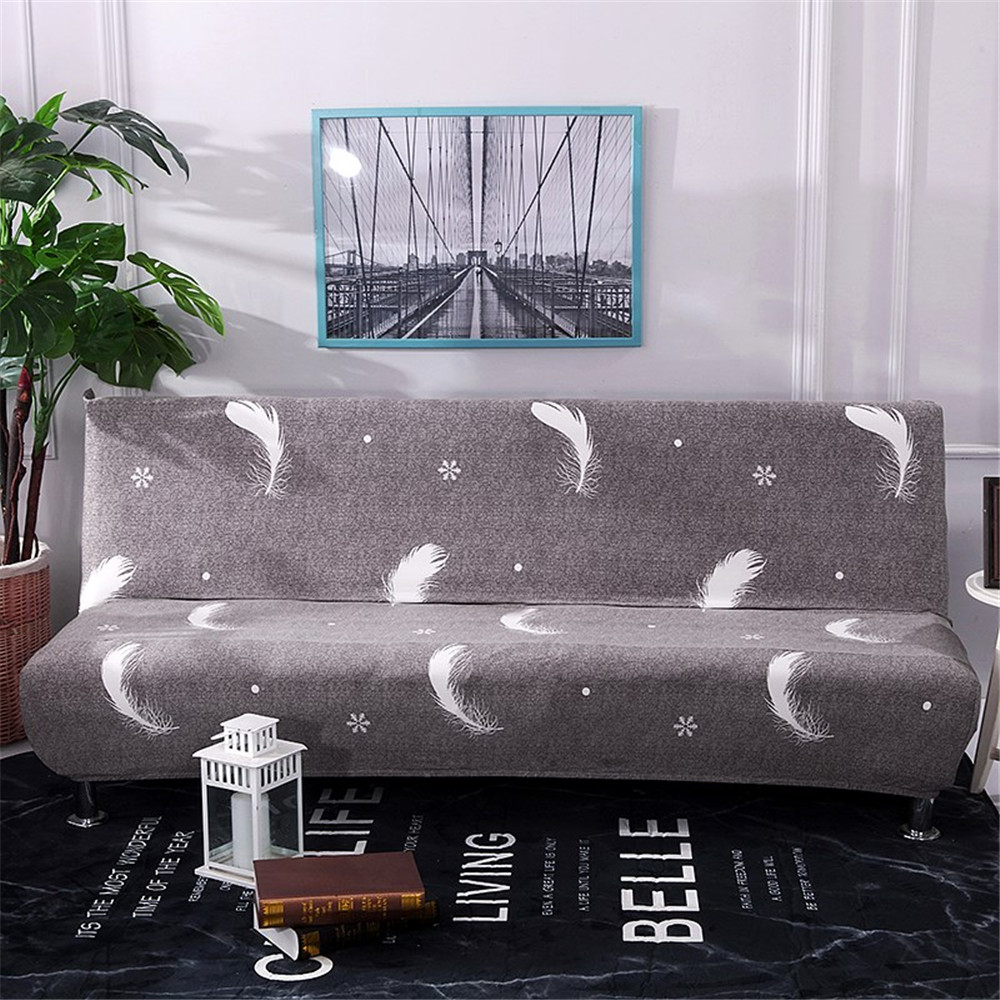 Stretch All inclusive Sofa Cover for Living Room Spandex Printing Elastic Couch Cover Furniture Protector Sofa