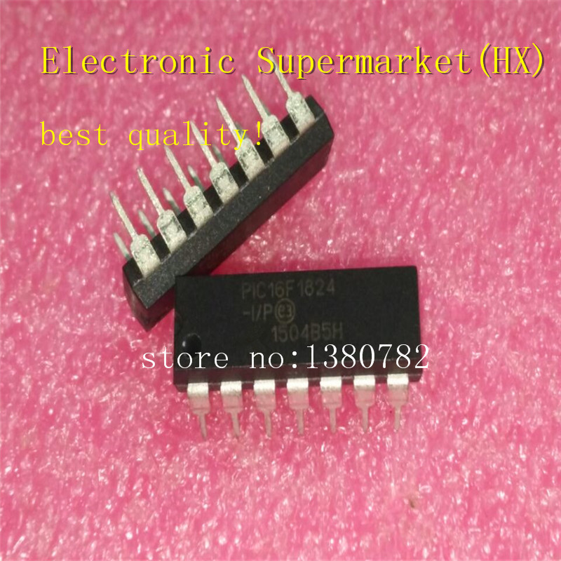 Free Shipping 5pcs/lots PIC16F1824-I/P DIP-28 New Original IC In Stock!