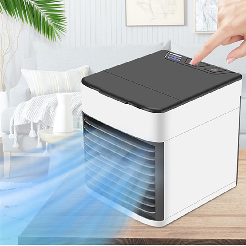 7 Color Night Light Creative Design Air Cooling Fan Machine Home Car Office USB Mini Portable Humidifier Desktop Air Conditioner