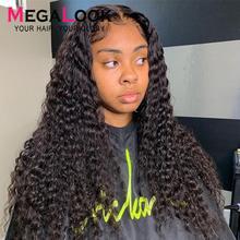 Глубокая волна парик закрытие парик 4x4 кружева закрытие парик человеческих волос 30 дюймов бразильские парики для чернокожих Для женщин Закрытие глубокая волна парик