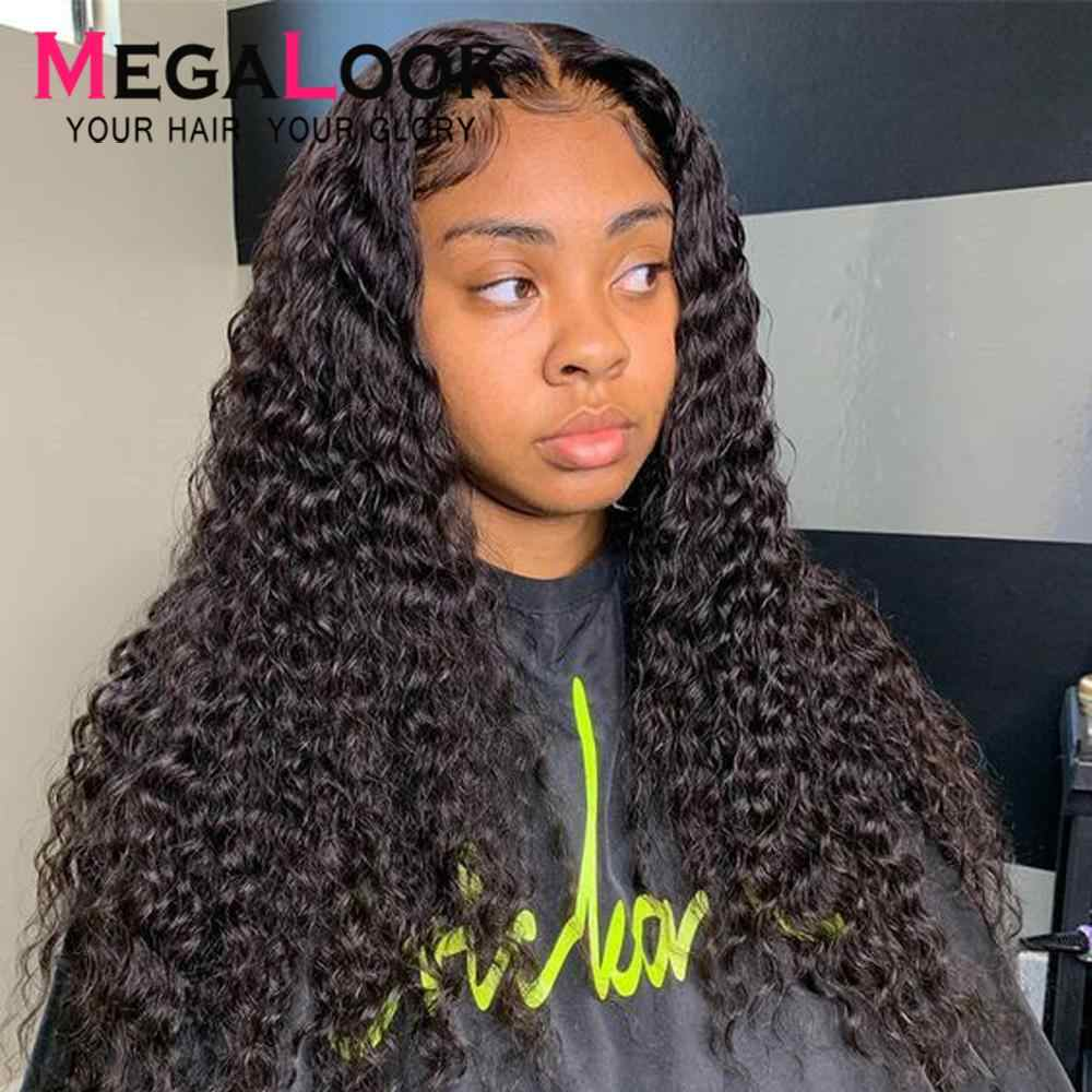 Deep Wave Wig Closure 4x4 6x6 Lace Closure Wig Human Hair Wig Remy 30inch Brazilian Wigs For Black Women Deep Wave Closure Wig