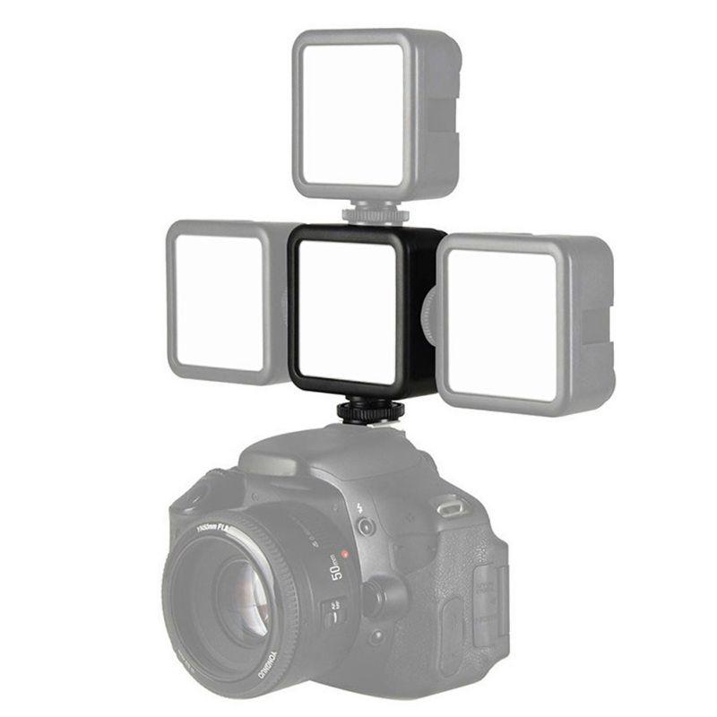 Камера фотография мобильный телефон клетка кролика сапоги на холодную погоду лампа ULANZI VL49 светодиодный фотографический свет со встроенной...
