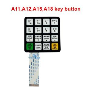 Image 3 - RichAuto A11 A12 A15 A18 DSP CNC controller parts key film button shell and display