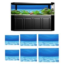 Aquarium Background Poster Fish-Tank Seawater Hot PVC 3D 6-Size Adhesive Image Underwater-Seawater-Picture