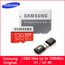 SAMSUNG – carte Micro SD EVO Plus/EVO, 128 go/64 go/32 go/512 go/256 go/128 go, mémoire Flash U1 U3 TF