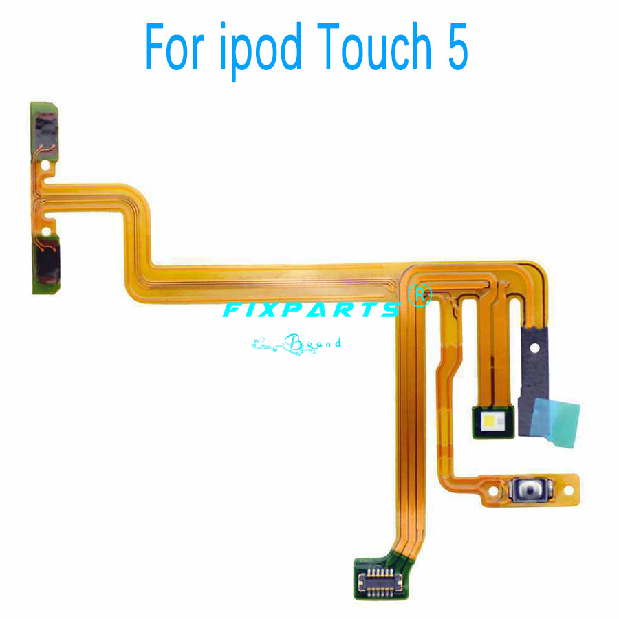 Ipod Nano 5 7 6 Up Down Audio Volume Button Power Switch On Off Button Flex Cable