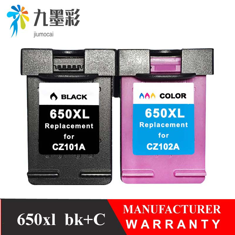 Ink Cartridge 650XL Replacement for hp650 <font><b>hp</b></font> 650 xl Deskjet 1015 1515 2515 2545 2645 <font><b>3515</b></font> 4645 Printer image
