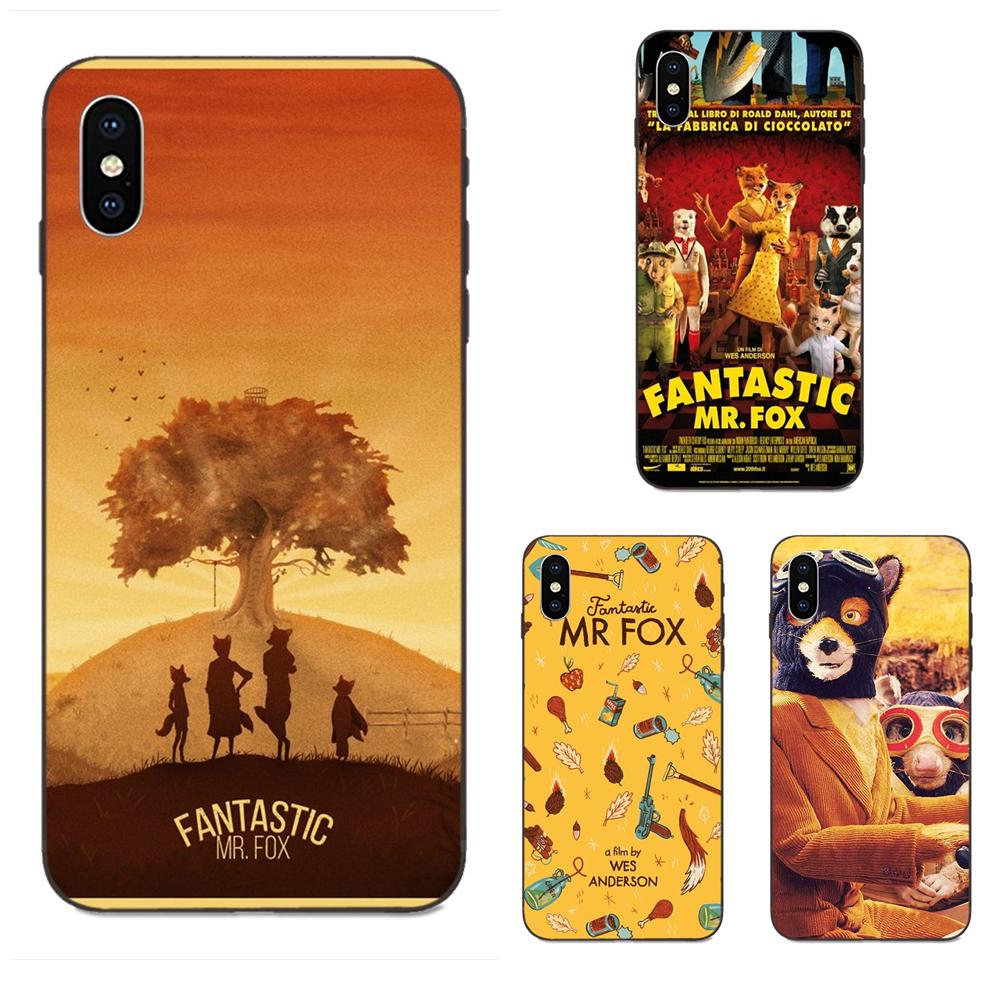 Fantastic Mr Fox Soft Tpu Retail New Fashion For Apple Iphone X Xs Max Xr 4 4s 5 5s Se 6 6s 7 8 Plus Half Wrapped Cases Aliexpress
