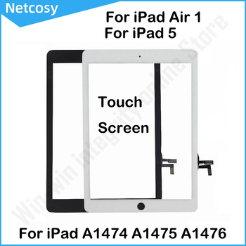 For iPad Air 1 LCD Outer Touch Screen Digitizer Front Glass Display Touch Panel Replacement For iPad 5 A1474 A1475 A1476 image