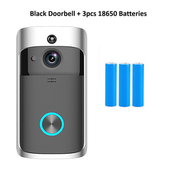 Wsdcam Smart Doorbell Camera Wifi Wireless Call Intercom Video-Eye for Apartments Door Bell Ring for Phone Home Security Cameras 12