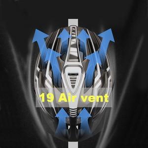 Image 5 - NOVITÀ Casco da bicicletta LED Ricaricabile leggero Casco da ciclismo da montagna modellato intergralmente Casco da bici da strada Casco da sport per uomo