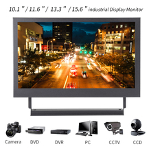 13.3/15.6'' 1080P Portable Computer Monitor PC HDMI PS3 PS4 Xbox360 HD IPS LCD 10.1/11.6 industrial Display Monitor for Camera